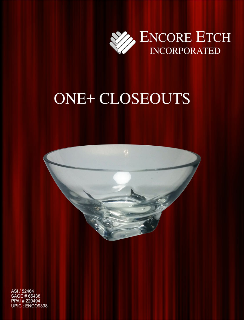 Click for Encore Etch Closeout Catalog